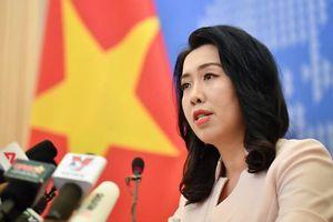 Việt Nam phản đối Trung Quốc đưa tàu quay lại xâm phạm vùng đặc quyền kinh tế