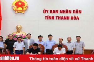 Chủ tịch UBND tỉnh Nguyễn Đình Xứng tiếp và làm việc với Tập đoàn Mintal - Hồng Kông