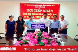 Ngân hàng TMCP Đầu tư và Phát triển Việt Nam (BIDV) trao 460 triệu đồng ủng hộ người dân bị thiệt hại do mưa lũ