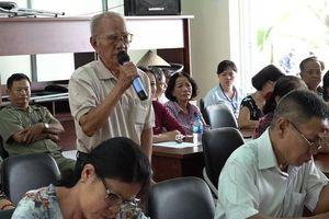 Bí thư Tỉnh ủy Nguyễn Phú Cường tiếp xúc cử tri phường Hiệp Hòa
