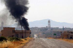 Phòng không Syria đáp trả cuộc tấn công tên lửa của phiến quân ở Hama