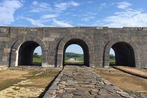 Hoàn thành tu sửa mái vòm và bảo tồn cổng Nam di sản Thành Nhà Hồ