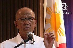 Bộ trưởng Quốc phòng Philippines bức xúc vì tàu chiến Trung Quốc đi lại 'bí hiểm' ở vùng biển Philippines