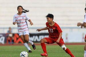 Nam thua Campuchia một, nữ Việt Nam đại thắng 10