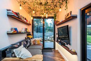 Căn nhà siêu tiết kiệm không gian dành cho cặp vợ chồng trẻ