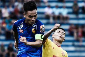 CLB Nam Định thua đội Quảng Nam ở phút bù giờ