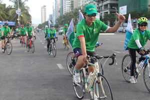 Hơn 600 tình nguyện viên tham gia chiến dịch 'Du lịch xanh - Go Green'