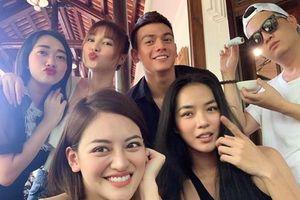 Nhóm bạn thân toàn diễn viên, người mẫu của Lan Ngọc