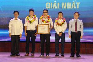 'GoStudio - Đài Truyền hình 4.0' giành giải Nhất cuộc thi khởi nghiệp