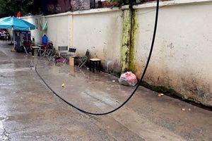 TP HCM: Điều tra vụ đứt dây điện làm chết người