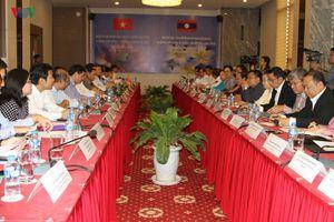 Việt Nam - Lào tăng cường hợp tác lĩnh vực công thương