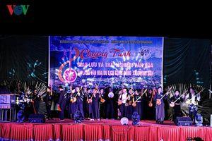 Hơn 300 nghệ nhân của 9 tỉnh giao lưu hát Then đàn tính