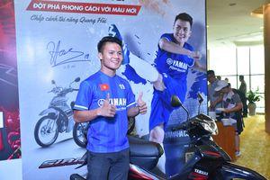Quang Hải truyền cảm hứng cho lứa cầu thủ trẻ giải U13 Yamaha Cup 2019