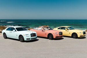 Rolls-Royce ra mắt bộ sưu tập xe siêu sang 'điệu đà' Pastel Collection