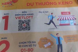 Vietlott bán vé Keno, trúng thưởng 10 tỉ đồng