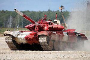 Choáng ngợp tốc độ của xe tăng Nga tại chung kết Tank Biathlon 2019