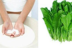 4 sai lầm khi rửa khiến rau mất chất nhạt vị, độc tố ngấm ngược trở lại