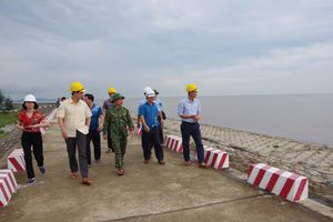 BĐBP Hải phòng sơ kết 5 năm phòng chống, khắc phục hậu quả thiên tai, cứu hộ - cứu nạn