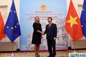 EU coi Việt Nam là đối tác hàng đầu tại khu vực