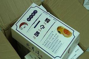 Tóm gọn hơn 4.000 chiếc bánh trung thu trứng chảy nhập lậu từ Trung Quốc