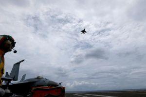 Quân đội Mỹ cam kết duy trì hoạt động tuần tra Biển Đông