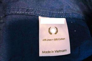 Ngăn chặn hàng giả mang xuất xứ Việt Nam
