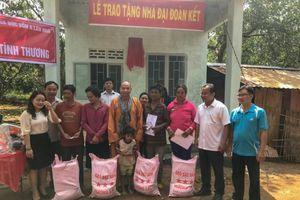 Trao tặng 4 căn nhà tình thương cho đồng bào dân tộc S'tiêng