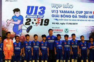 Giải bóng đá U13 Yamaha Cup trở lại sau 2 năm vắng bóng
