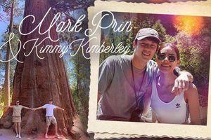 Đưa nhau đi Mỹ 'trốn' nhưng Mark Prin và Kimmy Kimberley vẫn không quên thả thính nhau khiến mọi người phát sốt vì ngọt ngào