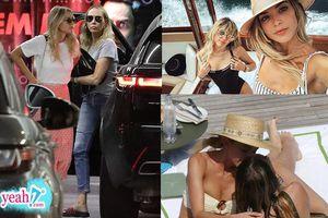 Trong khi fan mong chờ Miley Cyrus và Liam Hemsworth quay lại thì nữ ca sĩ đã dắt 'bạn gái' về nhà ra mắt mẹ rồi