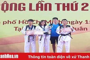 Các VĐV Thanh Hóa thắng lớn tại giải vô địch taekwondo châu Á mở rộng 2019