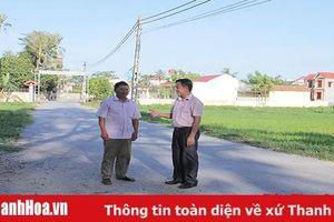 Xã Hoằng Châu phát huy trách nhiệm nêu gương của người đứng đầu