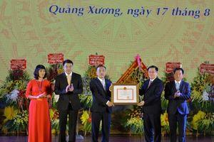 Thanh Hóa: Quảng Xương được công nhận là huyện đạt chuẩn NTM