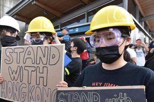 Xuống đường ở Anh, Úc, Canada, Pháp ủng hộ biểu tình Hong Kong