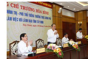 Phó Thủ tướng Thường trực: Tây Ninh tập trung chống buôn lậu, gian lận thương mại