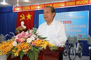 Phó Thủ tướng Thường trực Trương Hòa Bình thăm, làm việc tại Tây Ninh