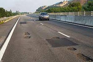 Cao tốc Đà Nẵng - Quảng Ngãi chưa được thu phí vì chưa khắc phục xong hư hỏng