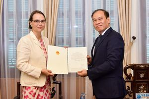 Bộ Ngoại giao trao Giấy chấp nhận lãnh sự Đức tại TP. Hồ Chí Minh