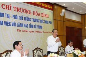 Tây Ninh tập trung triệt phá tận gốc các đường dây buôn lậu qua biên giới