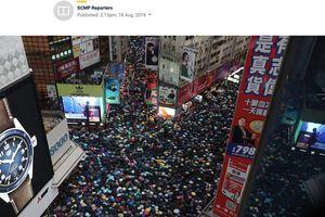 Người Hong Kong lại biểu tình lớn