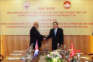 Quan hệ hợp tác toàn diện Cuba - Việt Nam không ngừng được củng cố