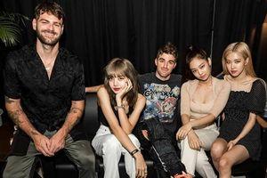 Tin đồn hợp tác với Ariana Grande còn chưa nguội, BlackPink lại khiến fan xôn xao trước bức ảnh thân mật cùng The Chainsmokers