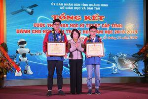 Một học sinh Quảng Ninh được chọn đào tạo chương trình tài năng đại học Mỹ