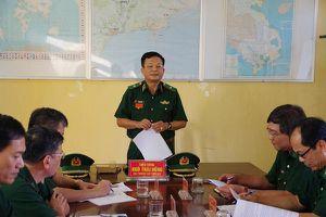 Kiểm tra toàn diện công tác Biên phòng tại Bình Thuận