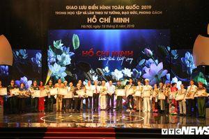 Giao lưu toàn quốc các điển hình tiêu biểu học tập làm theo tư tưởng, đạo đức, phong cách Hồ Chí Minh