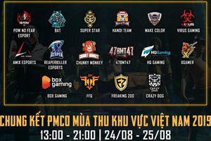 16 đội tuyển xuất sắc góp mặt tại vòng chung kết PMCO mùa thu Việt Nam 2019