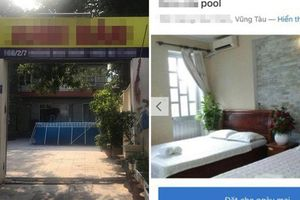 Thuê villa có cả bể bơi, sân vườn, khách nữ 'choáng váng' khi nhận phòng