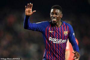 Barcelona nhận hung tin từ ngôi sao Dembele
