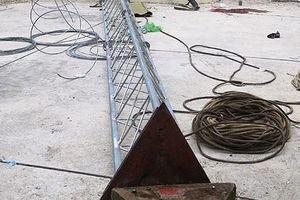 Sập cột ăng ten khi tháo dỡ, 2 công nhân kỹ thuật Đài PT-TH tử vong