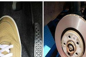 Bàn đạp phanh bị rung nếu bỏ qua có thể nguy hiểm tính mạng tài xế